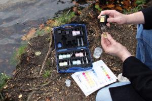 Chemische Wasseranalysetests von Macherey-Nagel