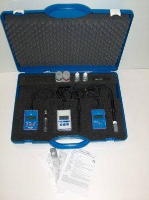 elektronische Wasseranalysekoffer