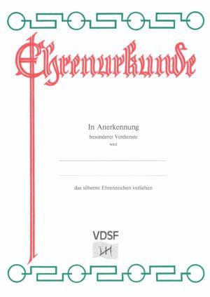 Urkunden VDSF